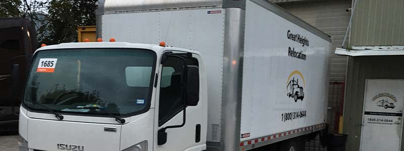 Residential moving company in texas