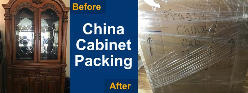 packing a chinese cabinet in texas