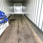 empty moving truck