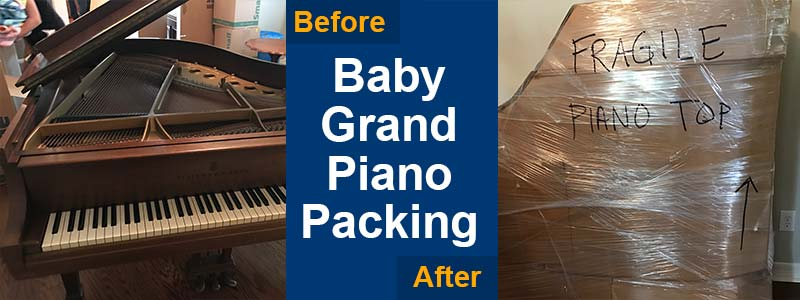 piano moving and packing services