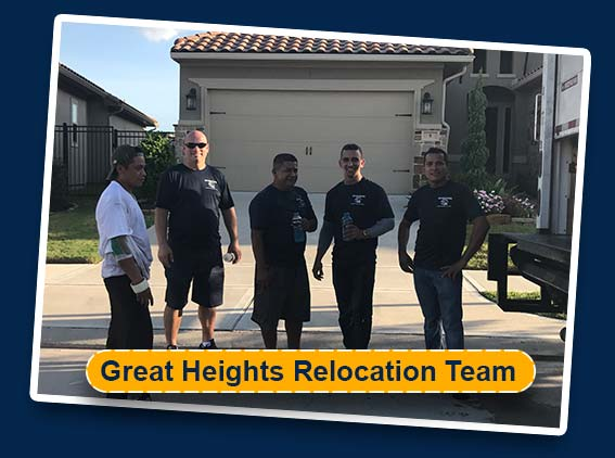 great heights relcoation movers team